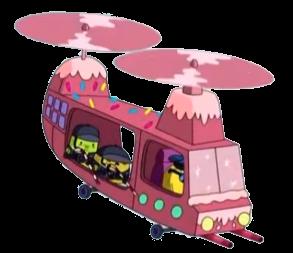 Dulces Agentes en Helicópteros