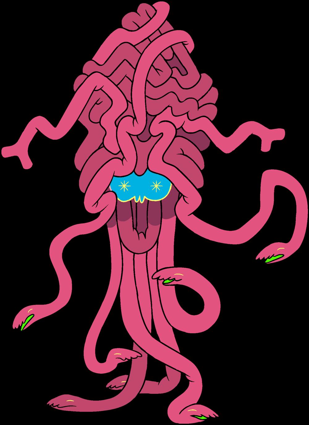 Bestia Serpiente Cerebro de Rubí