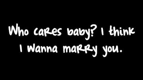 Bruno Mars - Marry You (Lyrics) HD