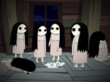 Chicas con Ojos en Blanco (personajes)