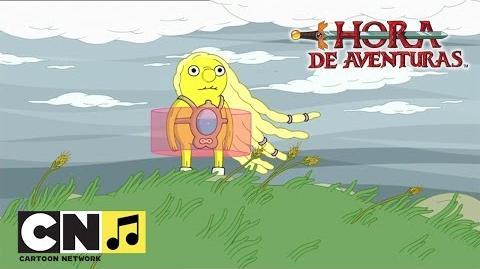 Pobre Pequeño Limoncín (Princesa Chicle) Hora de Aventuras Cartoon Network