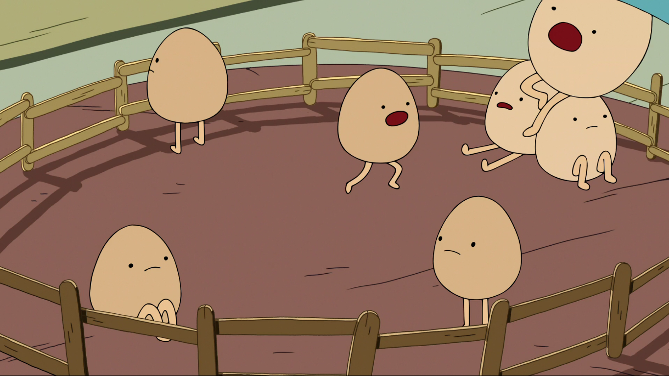 Hombres Huevos
