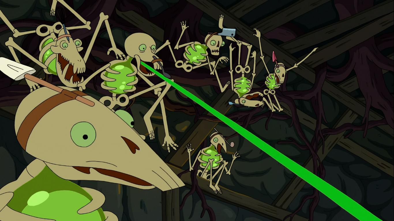 Esqueletos Viscosos