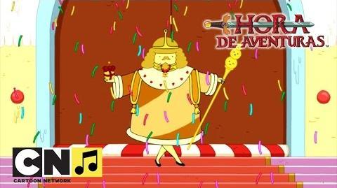 El rey princesa Hora de Aventuras Cartoon Network