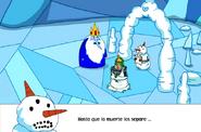 Rey helado tonto