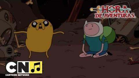 Canción 'Una Isla muy chachi' Hora de Aventuras Cartoon Network