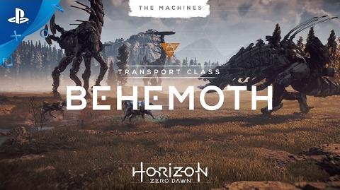 Horizon Zero Dawn - The Machines Behemoth PS4