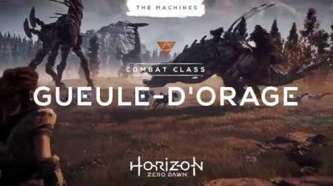 Horizon Zero Dawn en exclu sur PS4 le 1er mars - Les machines Gueule d'Orage