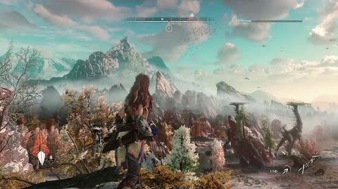 Horizon Zero Dawn sur PS4 - Gameplay PlayStationPGW 2015