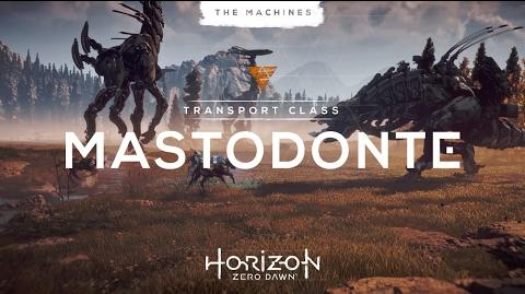 Horizon Zero Dawn en exclu sur PS4 le 1er mars - Les machines Mastodonte