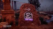 Free heap road sign