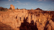 Towers above sunfall 1