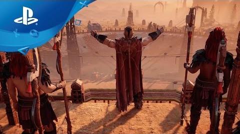 Horizon Zero Dawn - Story Trailer PS4, deutsch
