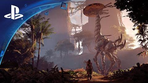 Horizon Zero Dawn - PS4 Pro Gameplay-Trailer