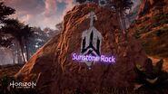 Sunstone Rock road sign