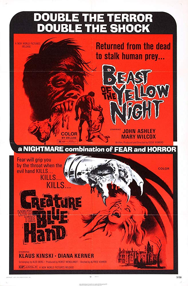 Beast of the Yellow Night (1971)
