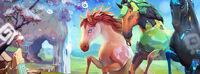 Göttliche Pferde Banner