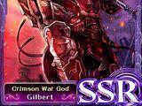 Crimson War God Gilbert