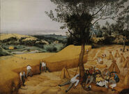Pieter Bruegel the Elder- The Harvesters - Google Art Project