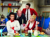 Flo, Richard, Jack und Victoria