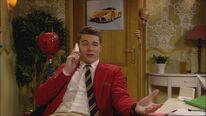 Jack telefoniert mit seinem Vater