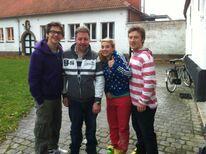 Patrick, Julia und Sebastian