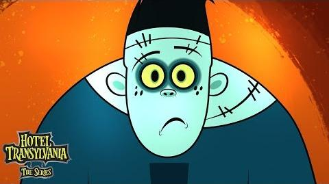Hank Was A Green Monster Hotel Transylvania The Series Disney Channel
