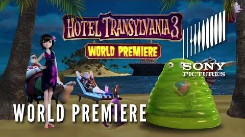 HOTEL TRANSYLVANIA 3 SUMMER VACATION - World Premiere