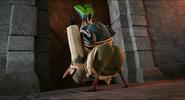 Quasimodo shakes his booty