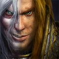 Warcraft III Corrupted Arthas Portrait.png