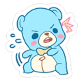 Shocked Cuddle Bear Stitches Sticker Spray.png