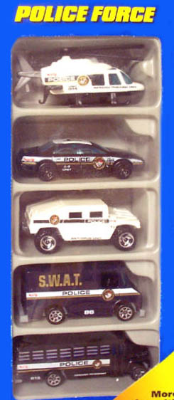 Police Force 5-Pack
