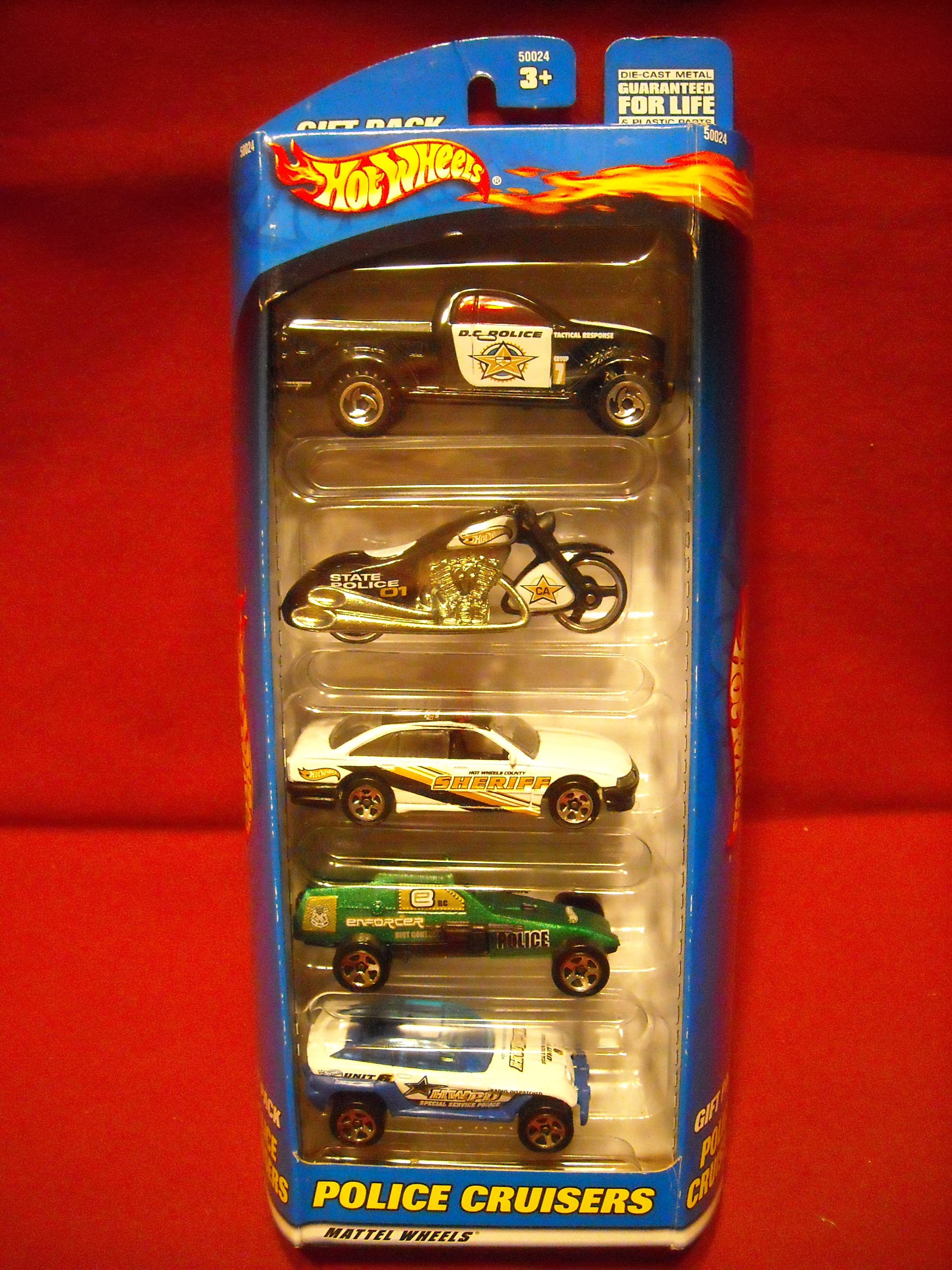Police Cruisers 5-Pack