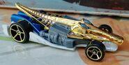 HW CROC ROD Super chromes GOLD