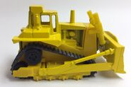 Cat Bulldozer. Side