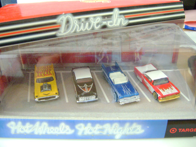 Drive-In 4-Car Set