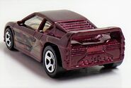 Zender Fact. Metallic Red.Rear