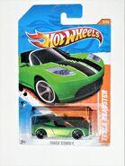 007a,TeslaRoadster,TrackStars,Green-Black,Long