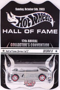 17th Collectors Convention Deora carded