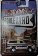 '85 Ford Bronco 4X4-2013 Hot Wheels Boulevard