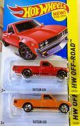 Datsun 620 Color & Wheel Vari