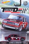 Datsun Bluebird 510 package front