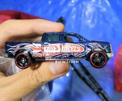 Hot Wheels 2014 #137//250 2009 Ford F-150 Argent Hw Hors-Piste