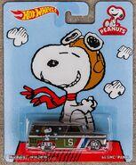 2014 Hot Wheels Pop Culture Peanuts '64 GMC Panel carded