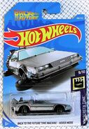 2019 Hot Wheels BTTF Time Machine - Hover Mode