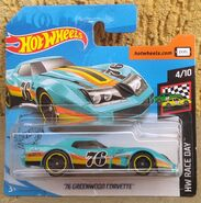 2020 HW Race Day - 04.10 - '76 Greenwood Corvette 01