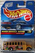 Hot Wheels School Bus Mixed Signals Series