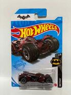 Batman Arkham Knight Batmobile red