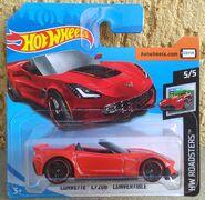 2019 HW Roadsters - 05.05 - Corvette C7 Z06 Convertible 01