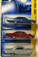 64FordGalaxie500XL Color Variations